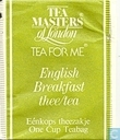English Breakfast thee/tea