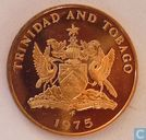 Trinidad and Tobago 5 cents 1975 (FM - PROOF)