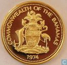 Bahama's 1 cent 1974 (FM, PROOF)