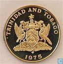 Trinidad and Tobago 25 cents 1975 (FM - PROOF)