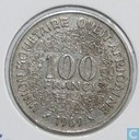 West-African States 100 francs 1969