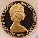 Britse Maagdeneilanden 10 cent 1974 (PROOF)
