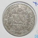 West African States 100 francs 1967