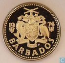 Barbade 25 cents 1974
