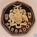 Barbade 1 dollar 1974 (PROOF)