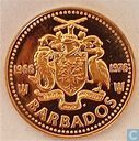 "Barbados 1 cent 1976 (PROOF) ""10th Anniversary of Independence"""