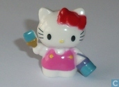 Hello Kitty mit Pinsel