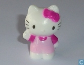 Hello Kitty winkt