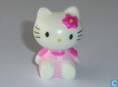 Hello Kitty sitzen