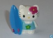 Hello Kitty with surfboard