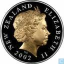 "Nieuw-Zeeland 5 dollars 2002 (PROOF) ""Queen's Golden Jubilee - Royal Sceptre"""