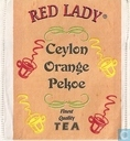 Tea bags and Tea labels - Red Lady® - Ceylon Orange Pekoe