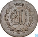 Mexique 20 centavos 1920