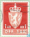 Timbres-poste - Norvège - armes