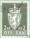 Postage Stamps - Norway - Arms