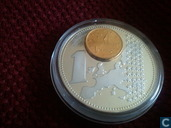 "Griekenland 1 euro 2002 ""The New European Currency"""