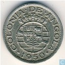 "Angola 50 centavos 1950 ""300th Anniversary - Revolution of 1648"""
