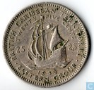 British Caribbean Territories 25 cents 1955
