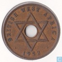 Brits-West-Afrika 1 penny 1952 (KN)