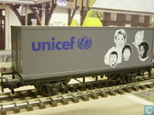 "Containerwagen ""UNICEF"""