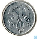 Hungary 50 fillér 1983