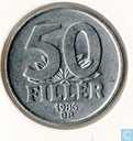 Hungary 50 fillér 1986