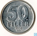 Hungary 50 fillér 1990