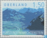 Liechtenstein from the air