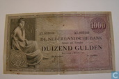 1000 Gulden 1926 Netherlands