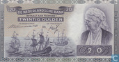 Banknotes - Monarchy of the Netherlands - 20 guilder Netherlands 1939
