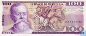 Mexique 100 Pesos