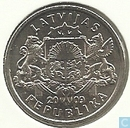 "Latvia 1 lats 2009 ""Namejs ring"""