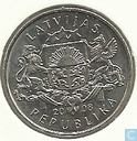 "Latvia 1 lats 2008 ""Chimney sweep"""