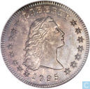 "United States 1 dollar 1795 ""Flowing hair, two leaves"""