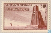 Postage Stamps - France [FRA] - Battle of Bir-Hakeim