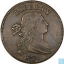 USA 1 cent 1798 (style 1)