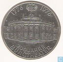 "Austria 100 schilling 1976 ""200 Anniversary of the Burgtheater"""