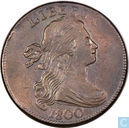 United States 1 cent on 1800 1798