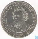 "Autriche 50 schilling 1978 ""150th anniversary of the death of Franz Schubert"""