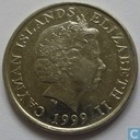 Cayman-Inseln 25 cents 1999