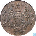 Etats-Unis 1 / 2 cent 1788 au Massachusetts