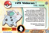 Trading cards - Pokémon TV Animation Edition Series 1 - Nidoran Female