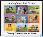 Disney Characters at work