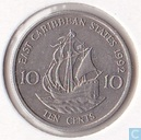 East Caribbean States 10 cents 1992