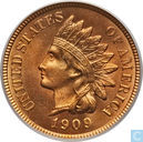 United States 1 cent 1909