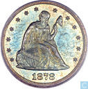 USA 20 cents 1878