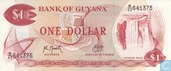 Guyana 1 Dollar ND (1992)