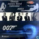 Classic James Bond Calendar 2003