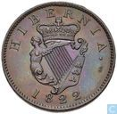 Irland ½ Penny 1822