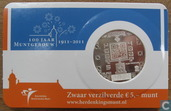 "Netherlands 5 euro 2011 (coincard) ""100 years of the Mint Building"""